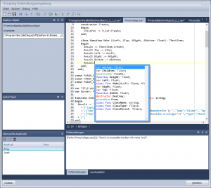 AquaSoft Scripting IDE